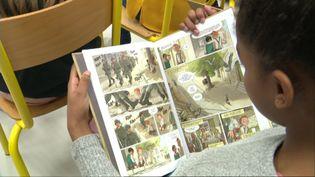 Les enfants de la résistance, une série plébiscitée par les jeunes lecteurs. (C. Guinot / France Télévisions)