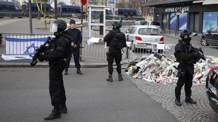 (Amédy Coulibaly est l'auteur de la tuerie au supermarché casher de la porte de Vincennes © Maxppp)