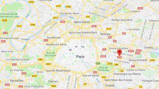 L'homme soupçonné d'avoir agressé sexuellement une jeune femme, qui l'a ensuite filmé, dans le métro à Paris, a été interpellé lundi 5 novembre, à la gare de Val-de-Fontenay (Val-de-Marne). (CAPTURE ECRAN GOOGLE MAPS / FRANCEINFO)
