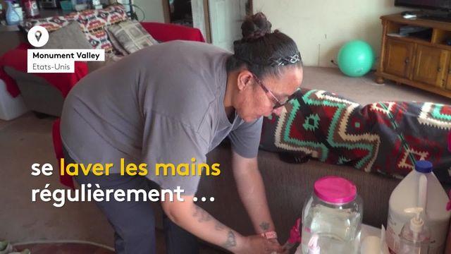 États-Unis : le calvaire des gestes barrières dans une réserve navajo