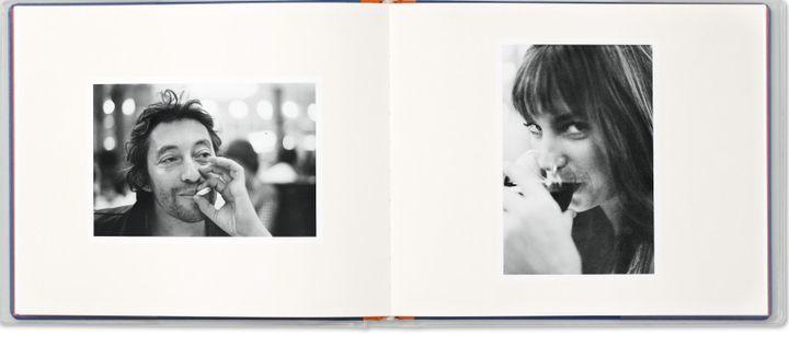 """Photos de Serge Gainsbourg et Jane Birkin par Andrew Birkin tirées du livre """"Jane et Serge"""" publié chez Taschen  (Andrew Birkin /  Taschen)"""