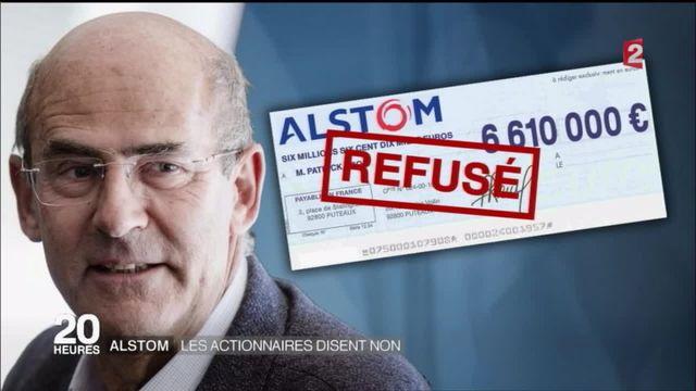 Alstom : les actionnaires se prononcent contre la rémunération de Patrick Kron