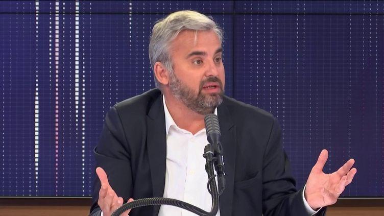 """Alexis Corbière, député La France insoumise de Seine-Saint-Denis, était l'invité du """"8h30 franceinfo"""", mercredi 1er juillet. (FRANCEINFO / RADIOFRANCE)"""
