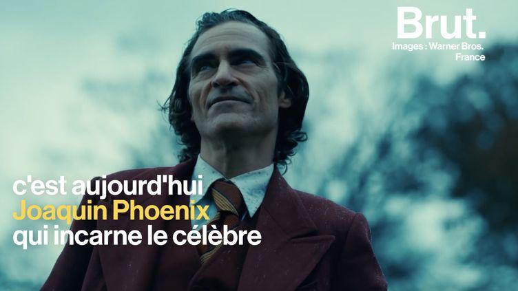 """VIDEO. """"Ça a été éprouvant sur bien des plans"""" : Joaquin Phoenix revient sur le rôle du Joker (BRUT)"""
