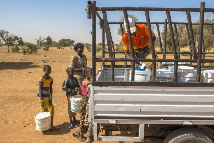 Collecte de lait au Sénégal par la Laiterie du Berger. (GODONG)
