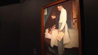 Les tableaux de Norman Rockwell investissent le Mémorial de Caen (FRANCE 3)
