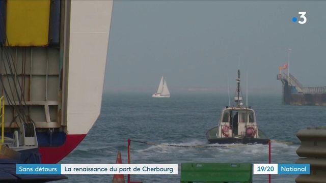 Cherbourg : le port a triplé son activité depuis le Brexit