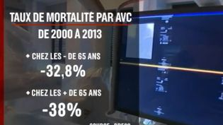 Santé : des progrès pour lutter contre l'AVC (FRANCE 2)