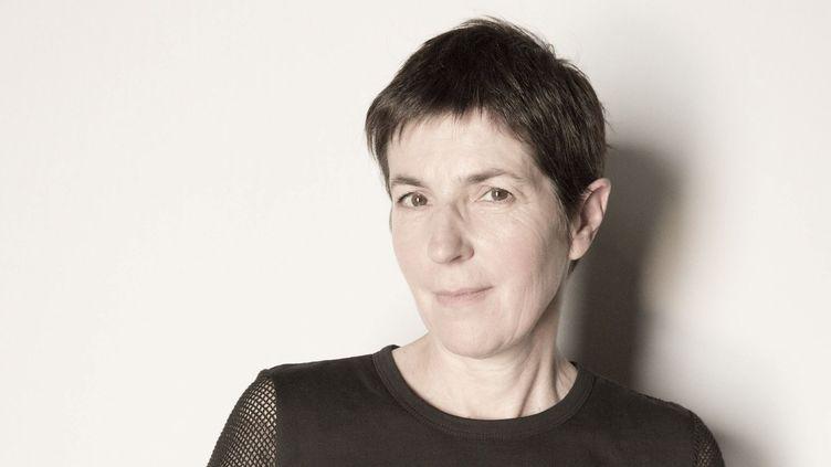 Christine Angot en mai 2017.  (Philippe de Poulpiquet/PHOTOPQR/LE PARISIEN/MAXPPP)