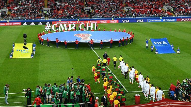 La Russie accueille la 10e édition de la Coupe des Confédérations en 2017. (VLADIMIR PESNYA / SPUTNIK)