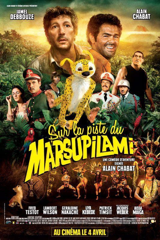 L'affiche du film : Sur la piste du Marsupilami  (DR)