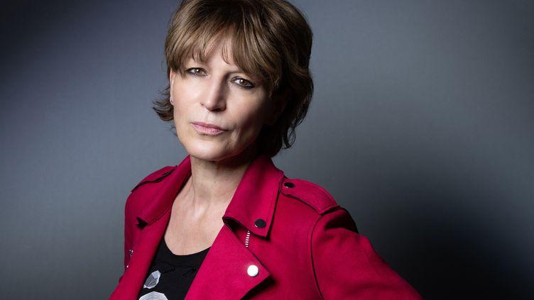 La secrétaire générale d'Amnesty International, Agnès Callamard, le 6 avril 2021 à Paris. (JOEL SAGET / AFP)