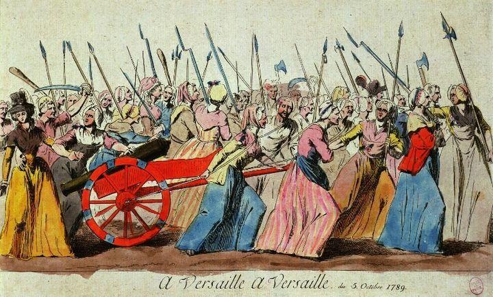 Marche des femmes sur Versailles, 5 octobre 1789  (Gianni Dagli Orti / The Art Archive / The Picture Desk)