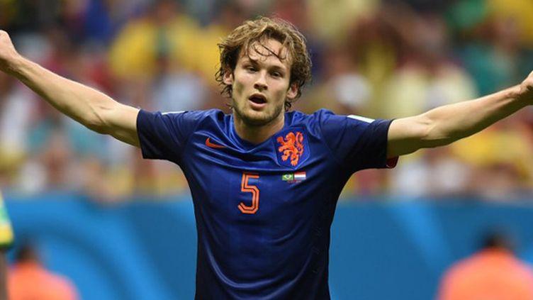 Daley Blind sous le maillot des Pays-Bas (VANDERLEI ALMEIDA / AFP)