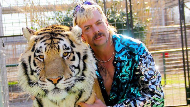 """Joe Exotic, de son vrai nomJoe Maldonado-Passage, personnage principal de la série à succès de Netflix """"Tiger King"""" (""""Au royaume des fauves"""" en version française). (NETFLIX)"""