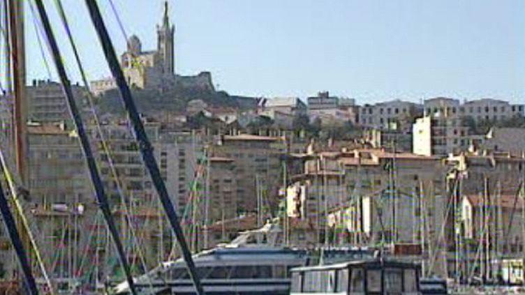 Marseille, vu du port (Fr. 3)