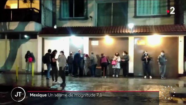 Mexique : un séisme de magnitude 7,1 frappe l'État du Guerrero