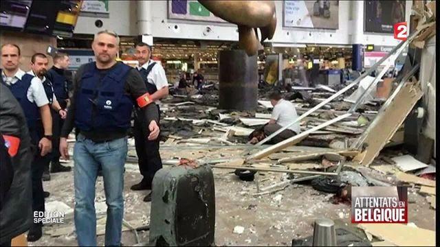 Bruxelles : le récit de l'attaque à l'aéroport