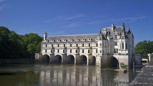 Le Château de Chenonceau (Indre et Loire) construit au dessus du Cher  ( Rob Cousins/REX/REX/SIPA)