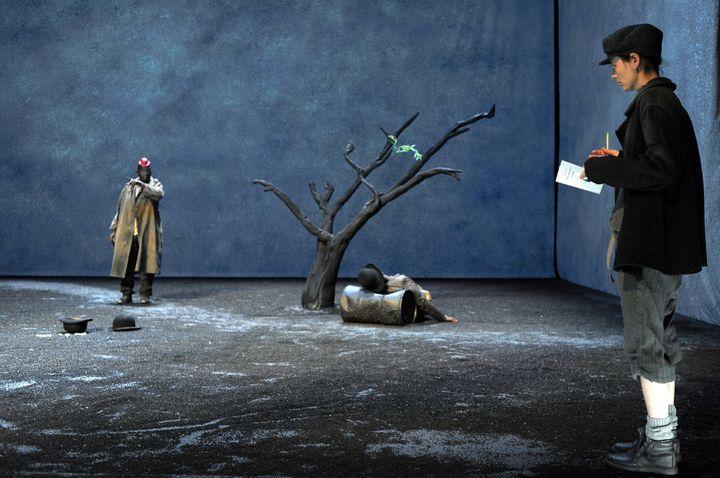 Michel Bohiri, Lyn Thibault  (Tristan Jeanne-Valès)
