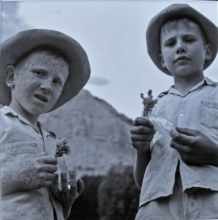 Les enfants du Champsaur  (Fonds français Vivian Maier et le Champsaur / donation John Maloof)