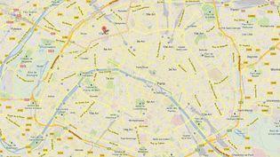 Un homme a été arrêté à Paris en début de soirée, à son domicile du 17e arrondissement de Paris. Son nom a été cité par le tireur d'Istres, tueur présumé de trois personnes. (GOOGLE MAPS / FRANCETV INFO )