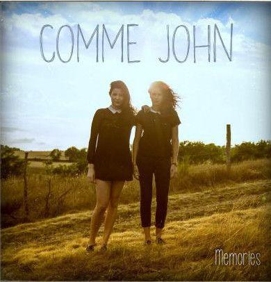 """La jaquette du premier CD de """"Comme John""""  (DR)"""