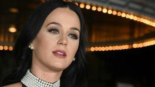 """Katy Perry lors de la première de """"Office Christmas Party"""" (7 décembrer 2016  (VALERIE MACON / AFP)"""