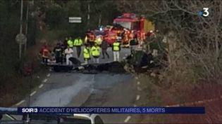 Cinq militaires sont morts dans la collision. (FRANCE 3)