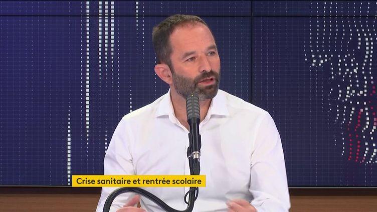 Benoit Hamon, sur franceinfo, le lundi 14 septembre 2020. (FRANCEINFO / RADIO FRANCE)