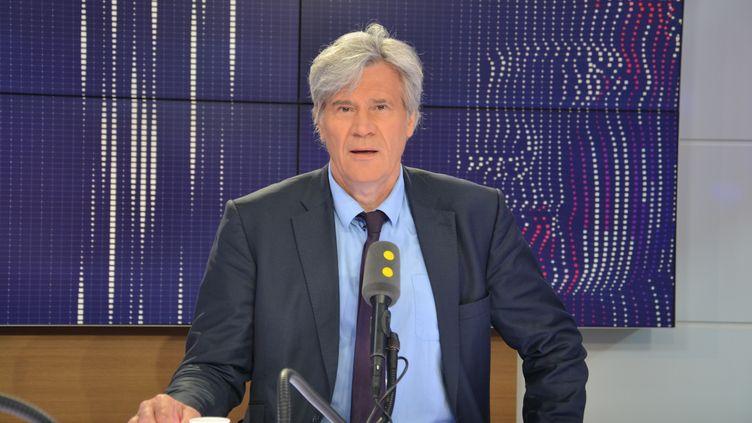 Le maire du Mans,Stéphane Le Foll. (JEAN-CHRISTOPHE BOURDILLAT / RADIO FRANCE)