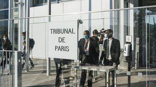 La cour d'assises spéciale du palais de justice de Paris, le 2 septembre 2020. (DENIS MEYER / HANS LUCAS)