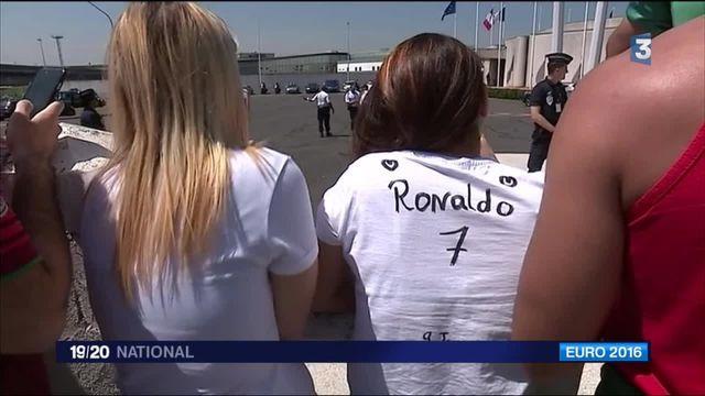 Euro 2016 : les joueurs portugais sont arrivés