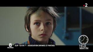 Un extrait du clip de l'association Enfance et Partage. (France 2)