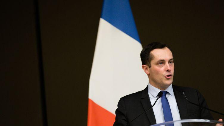 Nicolas Bay à Paris, le 17 février 2018. (MAXPPP)