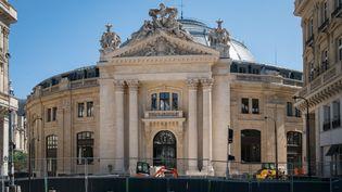 La Bourse du Commerce, rénovée, abritera les oeuvres de la collection de François Pinault. (SEVERINE CARREAU / HANS LUCAS)
