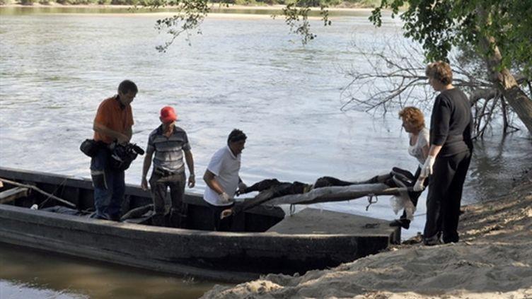Décès d'une migrante ayant tenté de traverser la rivière Evros à la frontière gréco-turque (2010) (AFP/Ketty Kehayioylou/UNHCR)