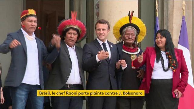 """Amazonie : Raoni porte plainte contre Jair Bolsonaro pour """"crime contre l'humanité"""""""