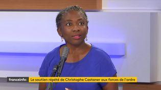 Danièle Obono, députée LFI de Paris, invitée du 18h50 franceinfo, le vendredi 26 juin 2020. (RADIO FRANCE)