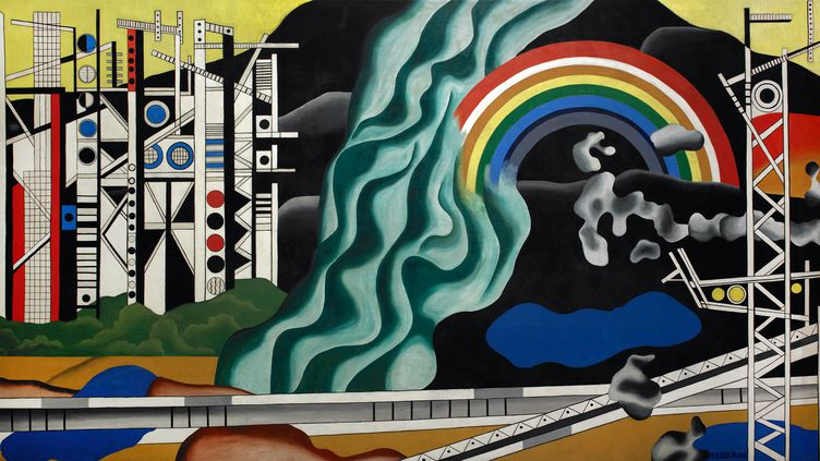 """""""Le transport des forces"""" de Fernand Léger (1937). (YVES CHENOT, 2021)"""
