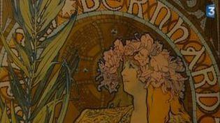 Alfons Mucha et ses illustrations Art Nouveau au musée Fabre  (Culturebox)