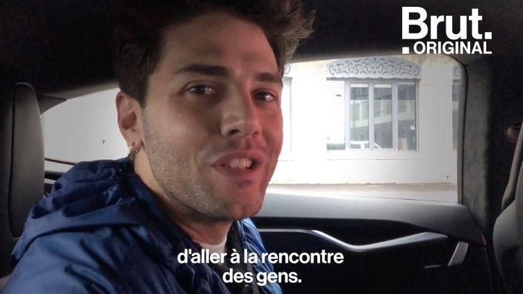 """VIDEO. """"Je fais des films à travers lesquels je me cherche"""" : en coulisses avec le réalisateur Xavier Dolan (BRUT)"""