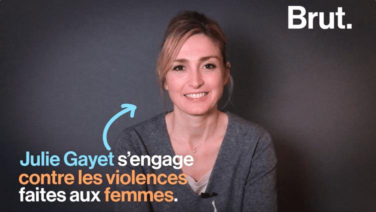 """Julie Gayet s'engage avec la Fondation des Femmes : """"On arrête de polémiquer et on passe à l'action"""" (BRUT)"""