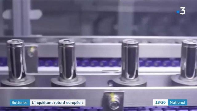 Batteries : l'inquiétant retard européen face à l'Asie