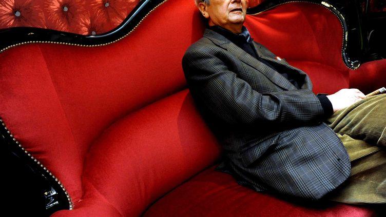 L'avocat Jacques Vergès à Toulouse (Haute-Garonne), le 30 janvier 2012. (BORDAS / SIPA)