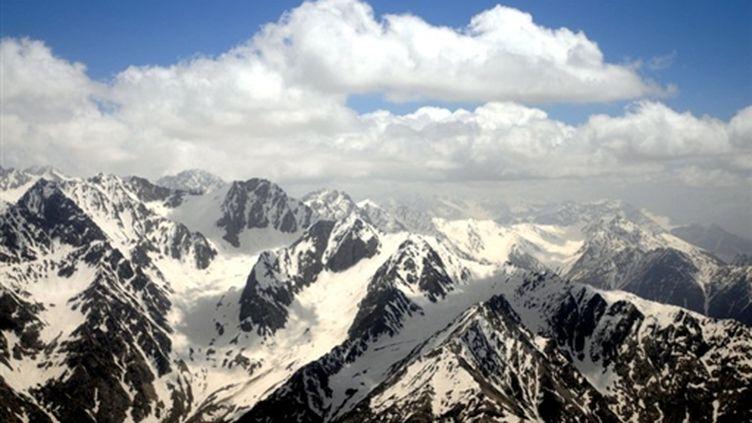 Les montagnes de l'Hindu Kush, dans la province du Badakhshan. (AFP/MASSOUD HOSSAINI)