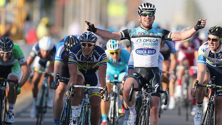 Mark Cavendish (Omega Pharma) (KARIM JAAFAR / AL-WATAN DOHA)