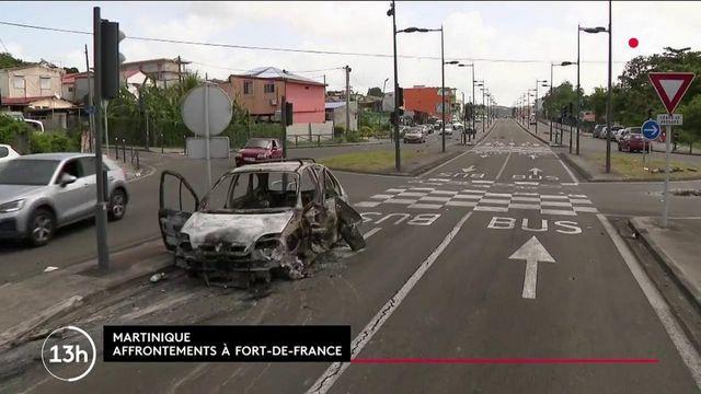 Covid-19 : nuit d'émeutes contre les nouvelles restrictions sanitaires à Fort-de-France