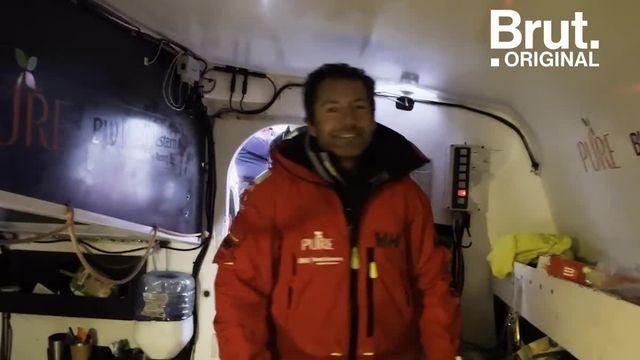 Il n'avait vu personne depuis 90 jours, seul au milieu des océans.