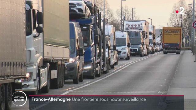 Coronavirus : la frontière franco-allemande sous haute surveillance